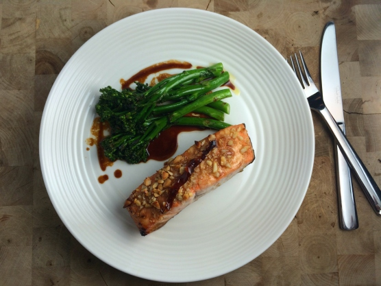 honeybalsamicsalmonwasabibroccolini